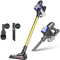 [1 Year Local Warranty] FREE ANTI DUSTMITE BRUSH - Dibea D18 Lightweight Cordless Stick Vacuum Cleaner,Gold