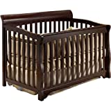 Sorrelle Florence Stages 4-in-1 Convertible Crib, Espresso
