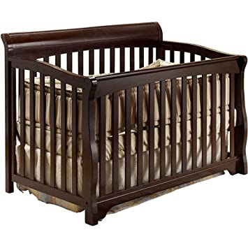 Amazoncom 4 In 1 Convertible Crib Toddler Bed Daybed Full Size