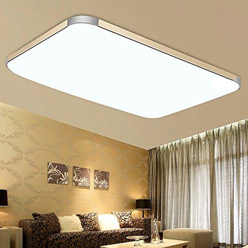 Byee R Led Deckenleuchte Wohnzimmer Rechteckige Aluminium Lampe