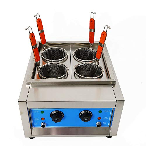4 Pots Commercial Pasta Cooking Machine 4 Commercial Holes Noodle Cooking Machine Electric Pasta Cooker Filter Basket Marker 4Kw Noodles from LOYALHEARTDY19