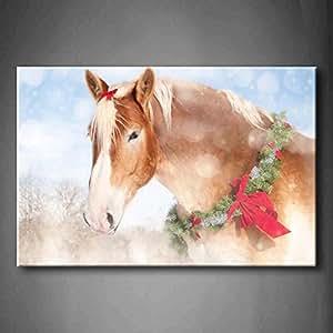 First wall art sweet christmas themed image for Christmas wall art amazon