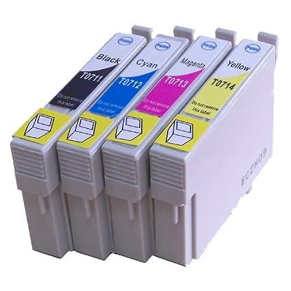 n.t.t. ® 4 x Unidades XL Cartuchos de impresora/de cartuchos de ...