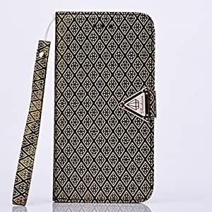 QYF Luxurious PU Leather Full Body Case with Stand and Card Slot for SAMSUNG GALAXY S5 I9600(Assorted Colors) , Silver