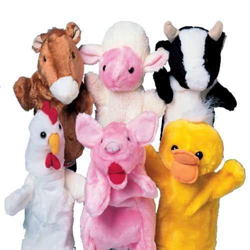 Farm Animal Plush Puppets