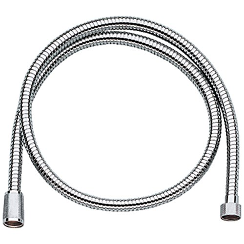GROHE 28143000 Relexa Longlife Metallic Hose, Starlight Chrome by GROHE
