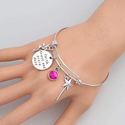 21st birthday key diamante chain charm sentiment bracelet gift present sentiment