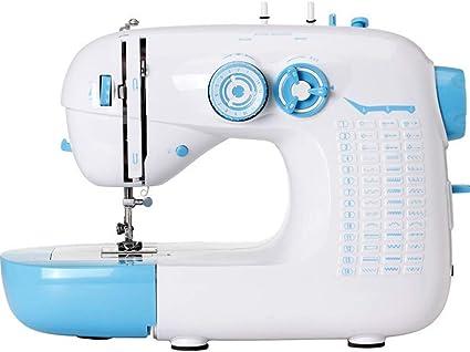 FuYouTa Macchina da Cucire per Principianti Mini Macchina da Cucire Domestica Macchina da Cucire Elettrica Portatile per Il Fai da Te