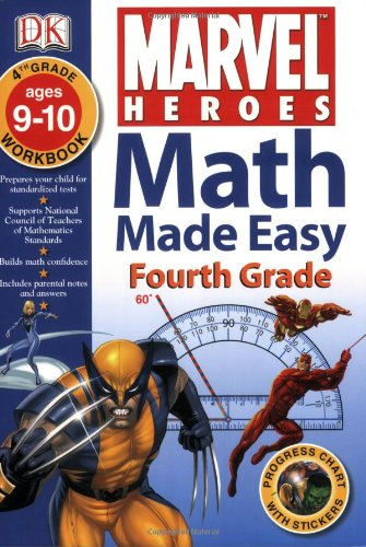 Math Made Easy: Marvel Heroes: Fourth Grade: DK: 9780756629984 ...