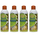 Sofn'Free Argan Oil from Morocco & Olive Oil Nourishing Sheen Spray (14.9 Oz) Pack Of 4 For Sale