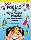 Poems for Sight-Word Practice: With Month-by-Month Activities