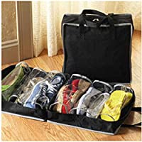 Royalr Chaussures Portable Box Chaussures Non-tissé Voyage Rangement