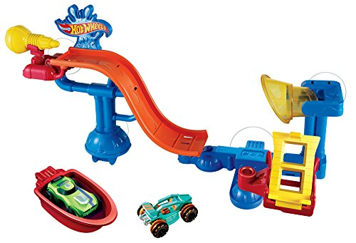 (Hot Wheels Splash Rides Splashdown Station Play Set)