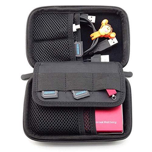 NEXGADGET Organizador Portátil Bolsa para Accesorios Electrónicos de Viaje Impermeable Funda Portable para Discos Duros...