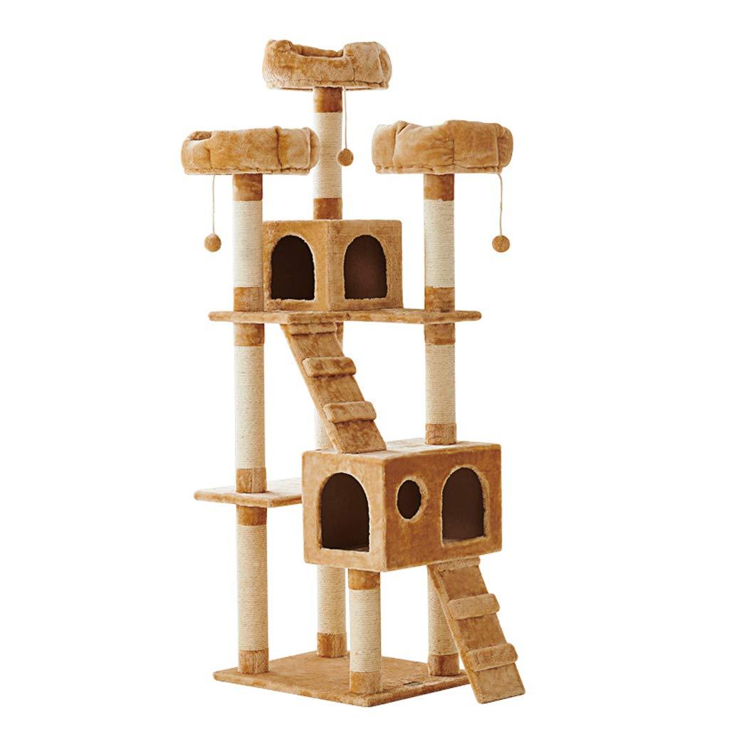 Albero di gatto che graffia alberino Centro di attività Gatto Cornice rampicante Gatto con Nido Villa Grande Giocattolo del Gatto