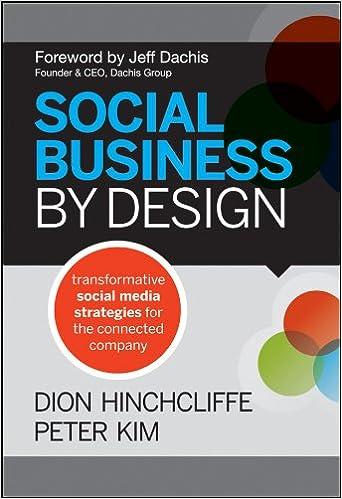 Social Business By Design: Transformative Social Media