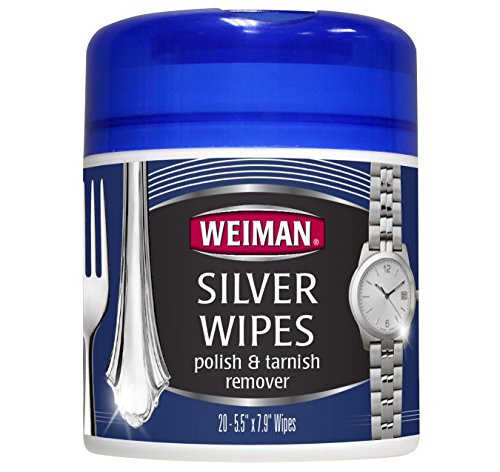 Weiman Products 48 Silver Wipes – 20 count