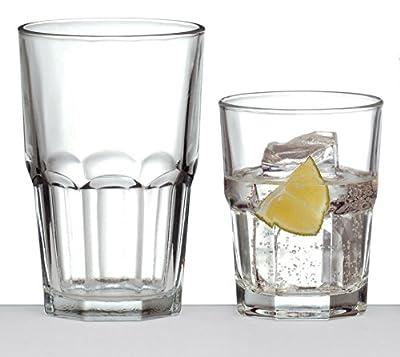 Crisa Boston Glassware Set, 16 Pcs.