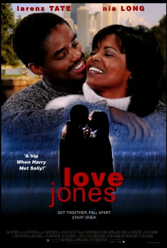 Love Jones Movie Larenz Tate Nia Long Original Poster Print