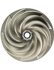 Nordic Ware 80637AMZ Platinum Collection Heritage Bundt Pan Silver