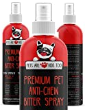 Anti Chew Dog Training Spray: No Chew Bitter Spray and Pet Deterrent...