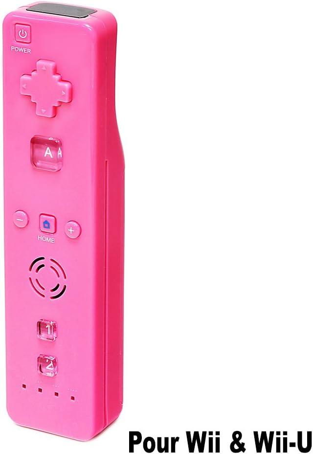 Brok`In Pink Wiimote – Mando para Consola Compatible con Nintendo ...