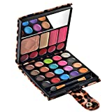 Ecvtop Professional Makeup Kit Eyeshadow Palette Lip Gloss Blush Concealer,29 Color