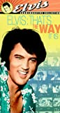 Elvis - That's the Way It Is [VHS]