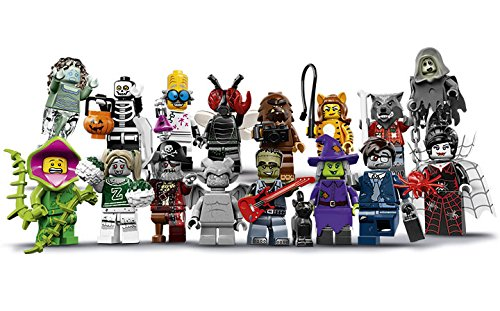 LEGO Monsters Series 14 Minifigures - Complete Set of 16 Minifigures (71010) Halloween -