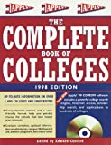 Complete Book of Colleges 1998, Princeton Review, 0679783989