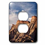 3dRose Danita Delimont - Mountains - USA, Colorado, Grand Junction. Eroded mud hills. - Light Switch Covers - 2 plug outlet cover (lsp_278749_6)