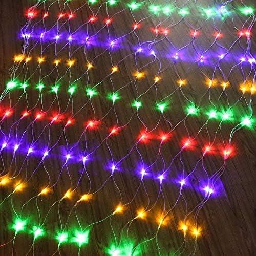 GFSDDS Weihnachtsbeleuchtung Outdoor Led Rasen Licht Dekoration Mit Wasserdichten Led Weihnachtsbeleuchtung, Multicolor, 220V, 2X3M