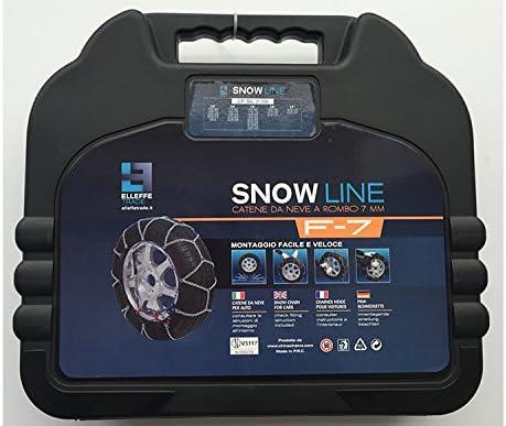140 MISURA 245//45 R20 /ÖNORM V5117 CERT Snow Line SL7-140 CATENE DA NEVE AUTO 7 MM GR