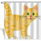 Custom daryl dixon Thickened Waterproof Fabric Shower Curtain Bathroom Decor