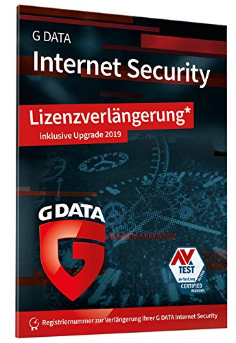 Price comparison product image G Data InternetSecurity 2019 UPG 1 PC