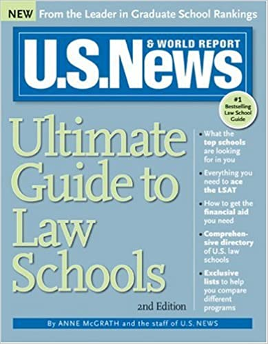 U.S News Ultimate Guide to Law Schools