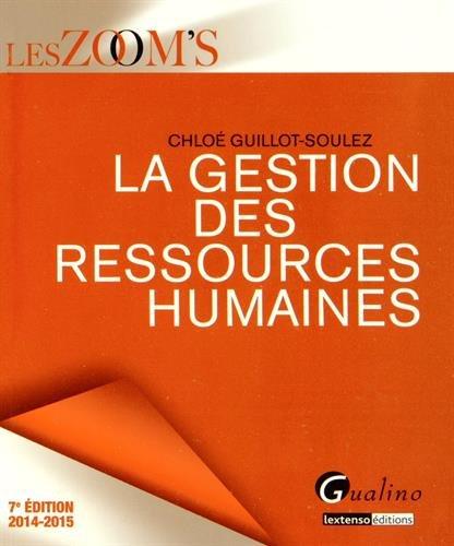 Livre Telecharger La Gestion Des Ressources Humaines 2014