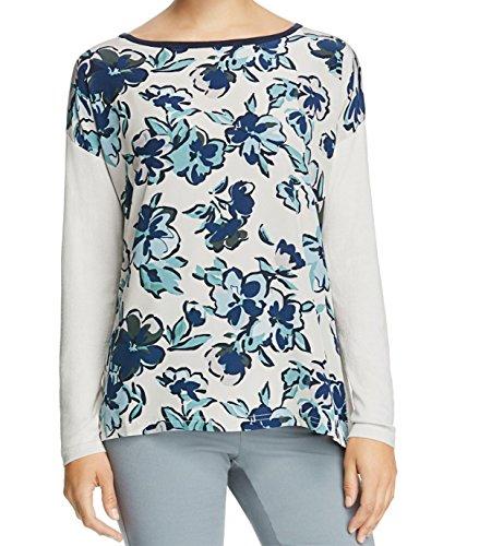 weekend-maxmara-blue-printed-boat-neck-silk-sweater-gray-xs