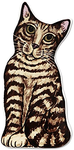 Animal Spoon Rests - Brown Tabby Cat Spoon Rest