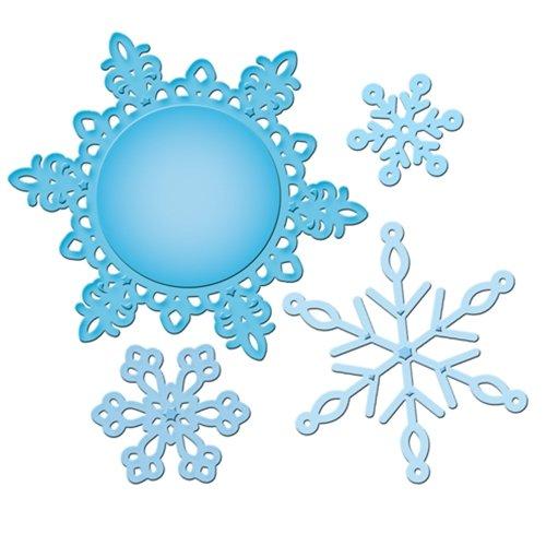Spellbinders S5-117 Shapeabilities 2012 Snowflake Pendant Die Templates
