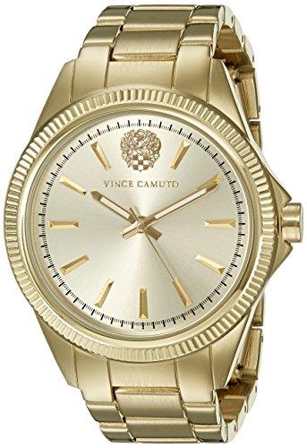 Vince Camuto Women's VC/5266CHGB Gold-Tone Bracelet Watch