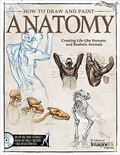 How to Draw and Paint Anatomy: Creating Life-Like Humans and ...