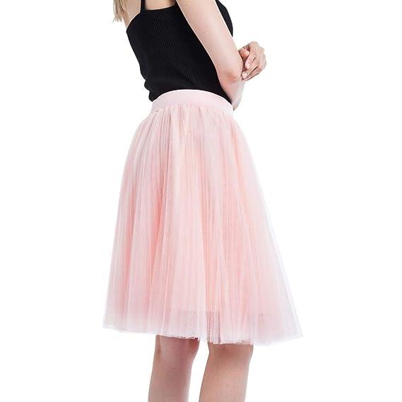 c72ee7b1b Vectry Faldas Anaranjado Falda Desigual Faldas Mujer Cortas Faldas ...