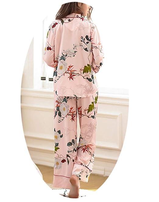 WCZ Sra Bata de Baño Pijama Verano Mantener Caliente Dos ...