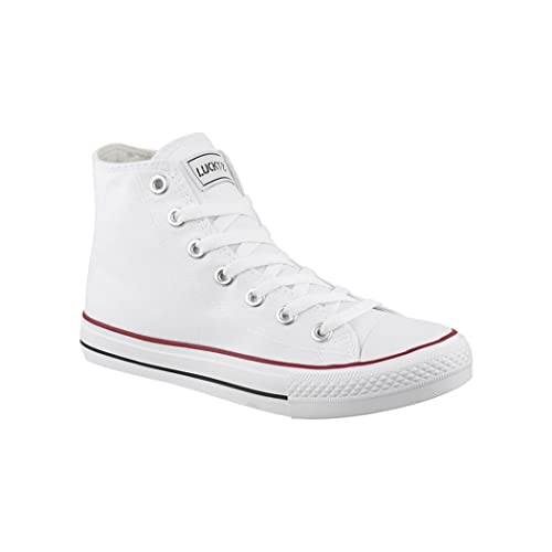 Elara, Sneaker donna, Bianco (bianco), 36