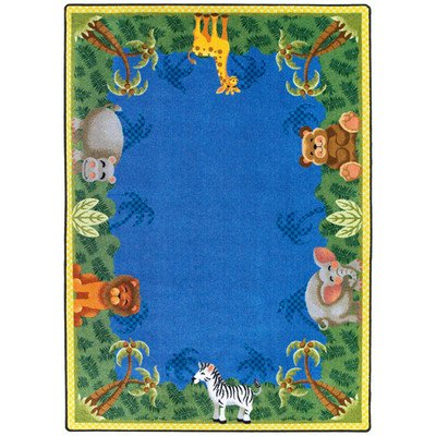Just-for-Kidss-Jungle-Friends-Kids-Rectangle-Rug