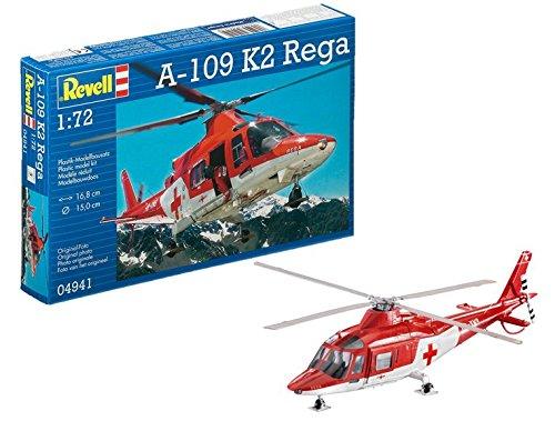 Revell Germany A-109 K2 Rega Model Kit (1/72 Scale)