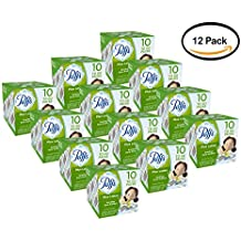 PACK OF 12 - Puffs Plus Lotion Facial Tissues, 10 To Go Packs, 10 Tissues per Pack