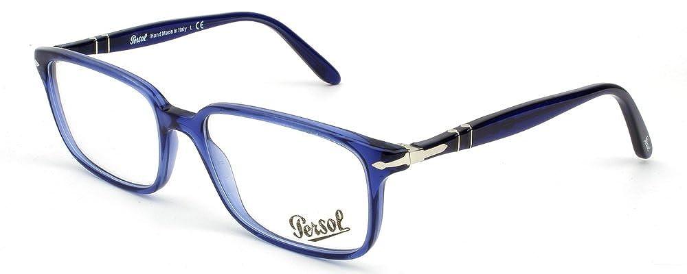 ee27e653556b07 Persol Montures de lunettes Pour Homme 3013 V - 1015  Cobalt Blue - 53mm   Amazon.fr  Chaussures et Sacs