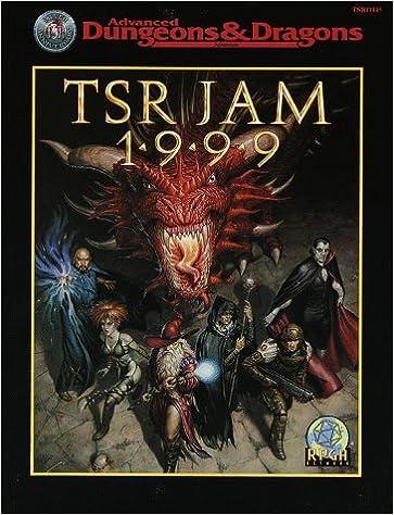 TSR Jam 1999 Cover
